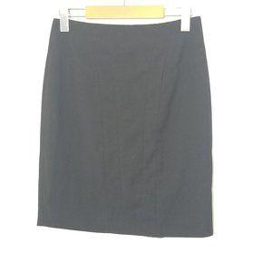 Icone | Classic Black Pencil Skirt Stretch Short 2